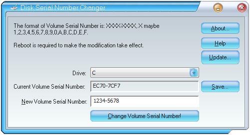 hard disk serial number changer 2018
